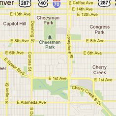 South of Colfax Nightlife District:   Bordered by Lincoln, Speer and Colfax and comprised of nightlife venues all within walking distance of one another, this is Denver's hottest club district.
