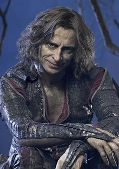 Robert Carlyle as Rumpelstiltskin. He is my favorite actor in this show (Once upon a time) .Such a versatile actor shown in three different roles/ personas!!. The man Rumpelstiltskin, The Dark One, and Mr.Gold.