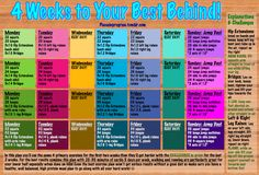 Fitness Challenge Ideas | July Challenge: 4 Weeks to your Best Behind!This plan should only take ...
