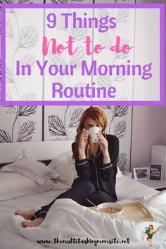 What we can and need to do in the morning is different. However, there are certain things we should all not do in our morning routine and I'm here to tell you what those things are! Mindset & Spirituality in Business Inspiration for Elizabeth Ellery Evening Routine, Night Routine, Morning Habits, Morning Routines, Daily Routines, Miracle Morning, Thing 1, Time Management Tips, Self Care Routine