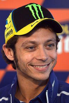 Valentino Rossi pilote de moto et gaucher