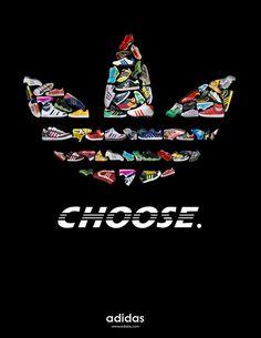 Adidas by Nicole Mertz, via Behance #adidas