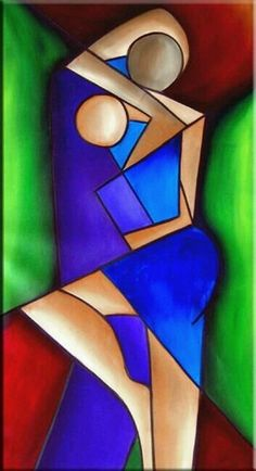 Trendy Ideas For Painting Abstract Cubism Cubist Art, Urbane Kunst, Art Portfolio, African Art, African Abstract Art, Watercolor Art, Painting Abstract, Painting Art, Modern Art