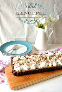 Sweet Gula: Salted Banoffee Tranche | Tarte Banoffee