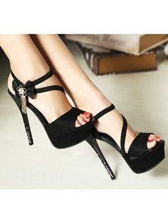 c6479abf7f8 2014 New Women Thin High Platform Sandals Pumps Lady Shoes Heels Red Bottom  Shoes Platform Stilettos