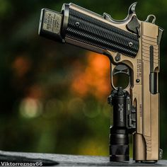 knives, guns, and tactical gear : Photo Military Weapons, Weapons Guns, Guns And Ammo, Airsoft, Rifles, Colt M1911, Revolvers, Custom Guns, Custom 1911 Pistol