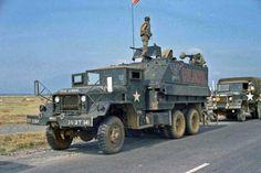 "US Army 363rd Transportation Company gun truck ""Colonel"", 1970."