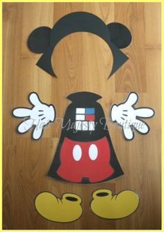 Mickey Mouse As Darth Vader Body Part by HairMajestyBoutique, $16.00