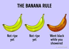 Isn't this the way your bananas treat you too?