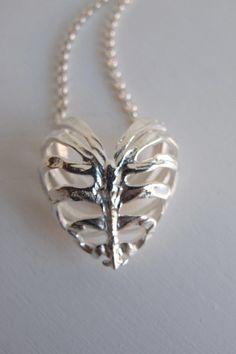 STOLEN GIRLFRIENDS CLUB Silver Fossil Heart Pendant Fossil, Girlfriends, Goals, Pendant Necklace, Club, Jewellery, My Style, Heart, Silver