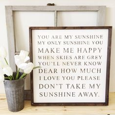 You Are My Sunshine | Nursery Decor | Nursery Inspo | Nursery Design | Nursery Ideas | Baby Room | Baby Shower | Rustic Nursery | Fixer Upper | Farmhouse Sign | Farmhouse Decor | Pallet Sign | Reclaimed Wood | DIY | Pallet Art | Rustic Sign | Rustic Home Decor | Quote Sign | Bedroom Decor | Shabby Chic | Pallet Crafts | Home Decor | Wood Sign | Farmhouse | Farmhouse Sign | Farmhouse Decor