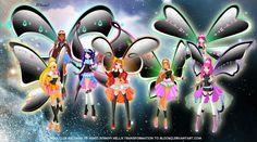 winx+club+all+transformations | The Winx Club All Winx Hellix Transformations