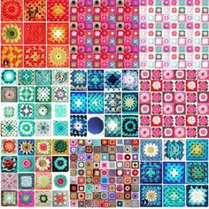 #grannysquareday2015 was a hit!!! So many beautiful #crochet squares!! We should do this once a Month!!!