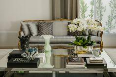 Cinza e dourado na decoração - veja ambientes maravilhosos com essa tendência! - Decor Salteado - Blog de Decoração e Arquitetura