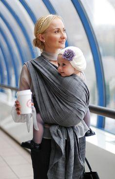 Ellevill Jade Fog #babywearing #wearallthebabies