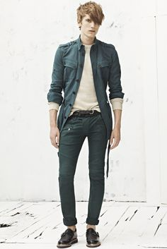 LOVE, Love, love this look from the Balmain Spring '13 men's collection