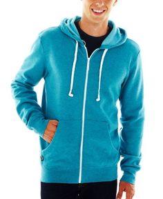 HoodieBuddie Men's Hoodie Buddie Zip Jacket Sweatshirt Earbuds Heather - Listing price: $49.99 Now: $19.99