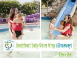 Win the Beachfront Baby Water Wrap #Giveaway - Hosted by @Pin-n-Tell.com aka Jen :) and open to entrants in the USA.