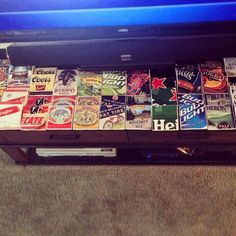 Instructable: Coasters from Beer Box Labels