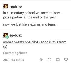 Stressed out by twenty one pilots Funny Quotes, Funny Memes, Hilarious, Dc Memes, Fandoms, Internet, One Pilots, Funny Pins, Just For Laughs