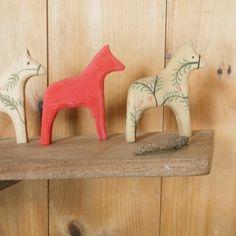 modern red dala horse