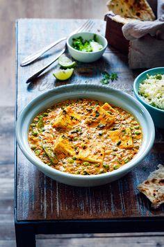 Achari Methi Paneer #food[hotography #foodstyling #paneer #methi #achari #matar #curries