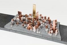 City of Things Manuel Herz Architects Sharing Models: Manhattanisms Storefront New York USA 2016 exhibition architecture