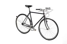 San Sebastian is designed for active cycling and inner city transport Built on a compact versatile frame with 4130 double butted CrMo tubing An agile and lightweight city bicycle Classic appearance with moustache handlebar