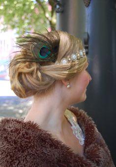 Gatsby inspired hairstyle - roaring twenties @ClemmoAroundTheWorld
