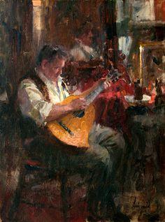 Richard Schmid, The Guitarist, 1961