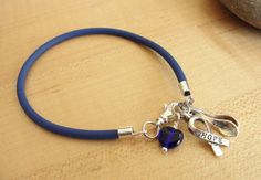 Blue Awareness Bracelet / Anklet - The Spoon Theory - POTS, Dysautonomia, ARDS, Arthritis, Chronic Fatigue, & More on Etsy, $6.00
