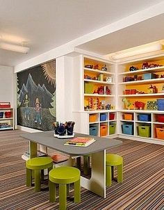 It's basically the kids version of a man cave or a crafts room. What 5-year-old wouldn't love a room like this?