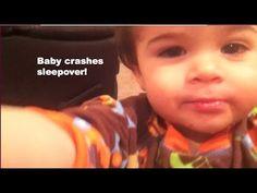 Vlog 10-  Baby crashes sleepover! December 10th-14th, 2013