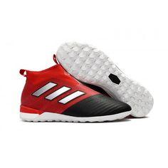 chaussure de foot Adidas pour Homme ACE Tango 17+ Purecontrol Indoor Rouge  Noir Blanche achat