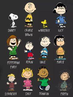 The Peanuts Gang ♥