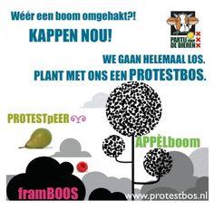 Plant met ons een protestbos in Amsterdam!