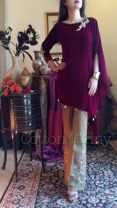 01c555e2a1 So simple neck design and nice colours. sampaakter.15 · Pakistani dress  design