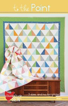 Love this quilt...pattern in Cluck Cluck Sew's shop.