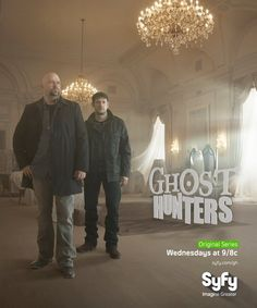 Go on an investigation with Ghost Hunters