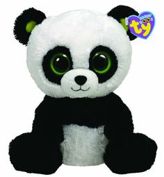 Ty® Bamboo Panda Beanie Boo's™ It's play time! This adorable Bamboo Panda is ready for play time fun. Ty Animals, Ty Stuffed Animals, Plush Animals, Ty Beanie Boos Collection, Ty Peluche, Rare Beanie Babies, Panda Bebe, Ty Babies, Ty Toys