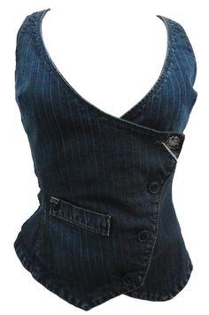 Miss Sixty pinstripe vest