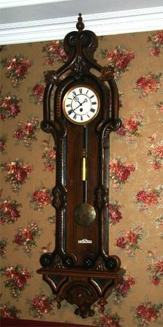 Early 1800's Antique 1 Weight Wall Clock