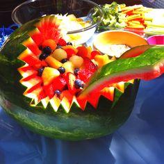 fruit basonet! #babyshower #food #fruit #babyshowerideas