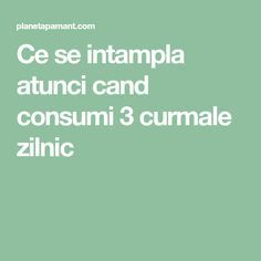 Ce se intampla atunci cand consumi 3 curmale zilnic Good To Know