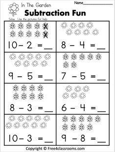 Worksheets For Grade 4 2nd Grade Worksheets Addition And Subtraction Worksheets Math Subtraction