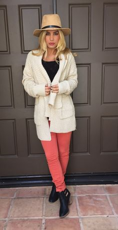 Favorite Things Oatmeal Knit Sweater