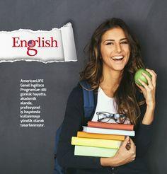 Genel İngilizce Programları dili günlük hayatta, akademik alanda ve profesyonel iş hayatında kullanmaya yönelik olarak tasarlanmıştır. AmericanLIFE, Genel İngilizce Programlarında Avrupa Dil Portfolyosu kriterlerini kullanarak dil eğitiminizdeki hedeflerinize ulaşmanızı sağlar. %100 Öğrenme Garantili Genel İngilizce Programlarının detaylarını şubemizden öğrenebilirsiniz.  #AmericanLIFE #Kurtkoy #Language #Institute #İngilizce #Almanca #Rusça #DilKursu #İngilizceÖğreniyorum…