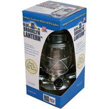 Led lantern.  No more dangly cord.  $13 at walmart.