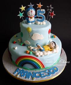 Doraemon+cake