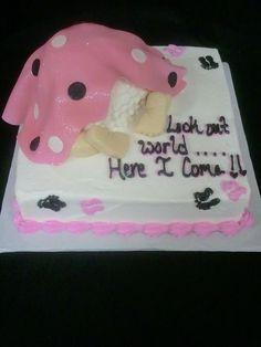 Baby Shower Cake   Baby Bump Cake